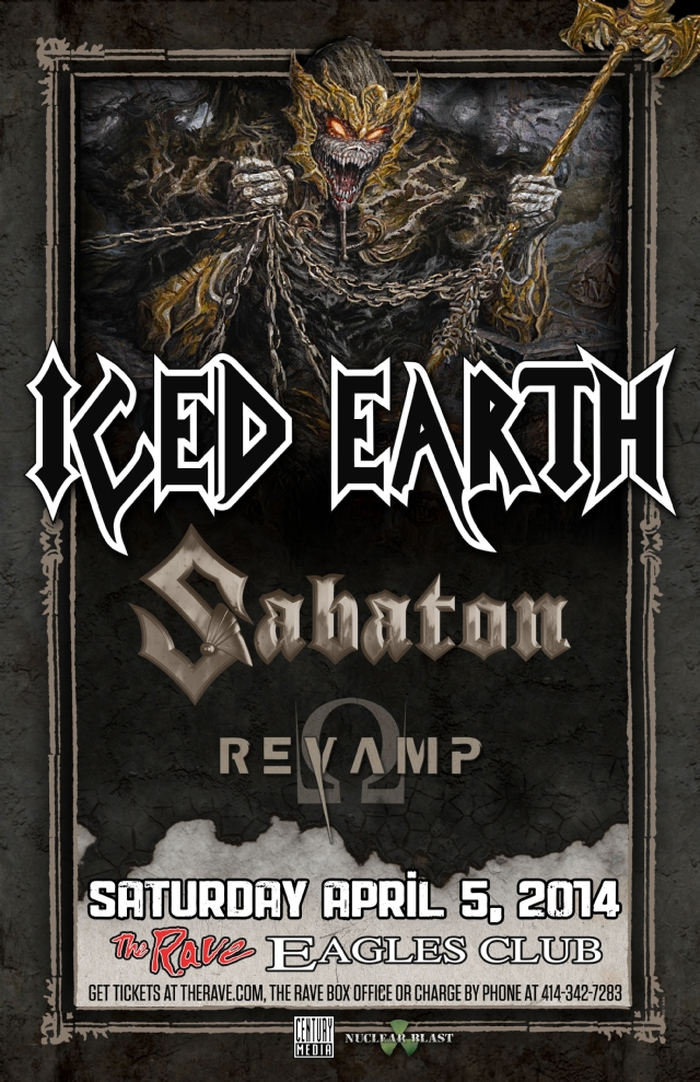 Iced Earth Rave