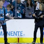 Metallica at Game 4 of the Stanley Cup Final